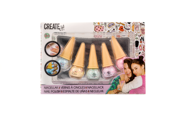 CREATE it! Nagellakset 5 kleuren