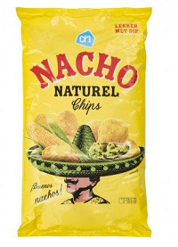 Zak AH nacho naturel chips